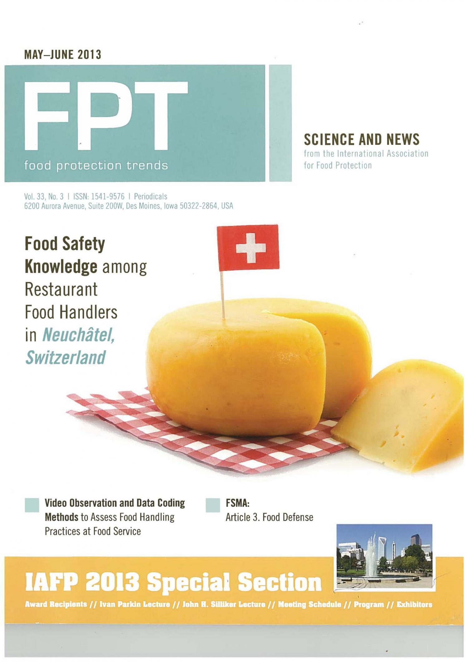 journaux scientifiques suisses